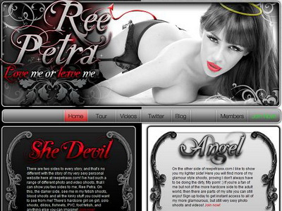 Ree Petra XXX review. Ree Petra XXX is a must see if you want to know both ...